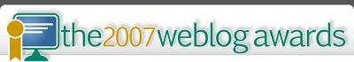 Mejores Blogs - The 2007 Weblog Award