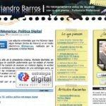 """Algunos cambios en """"El escritorio de Alejandro Barros"""""""