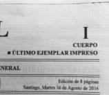 Diario Oficial - Versión en papel