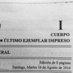 Del papel a lo digital en Diario Oficial, pero falta mucho!