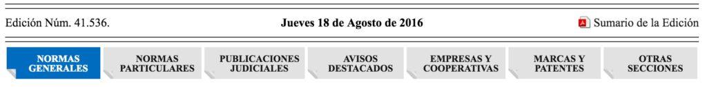 Diario Oficial - Edicion Lenguetas - Diario Oficial