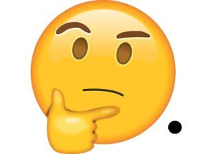 emoticon pregunta