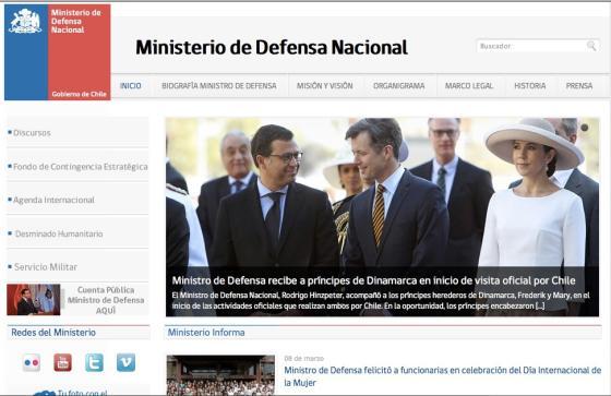 Las luces y sombras de la plantilla de sitios web del for Pagina web ministerio interior